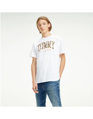 Camiseta Tommy Logo Print