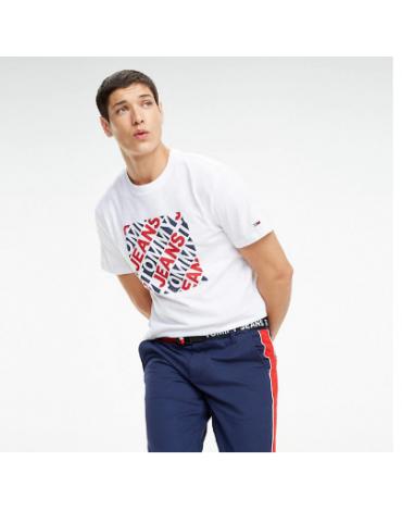 Camiseta Tommy Diagonal Logos