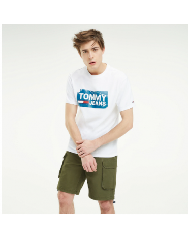 Camiseta Tommy Scratched Box Tee