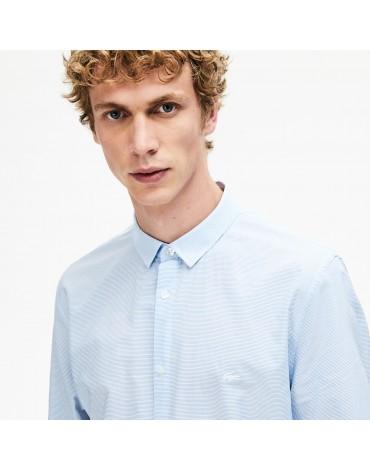 Camisa Lacoste regular fit-rayas horizontales