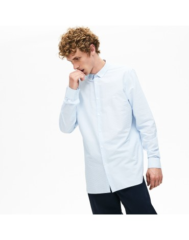 Camisa Lacoste regular fit-rayas horizontales