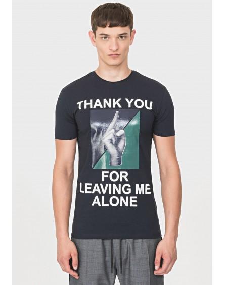 Camiseta Antony Morato Slim Fit estampado mano