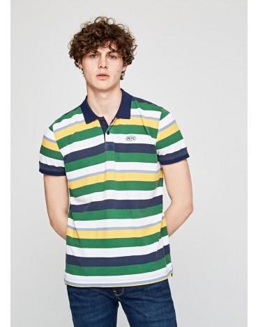 Polo Pepe Jeans rayas multicolor