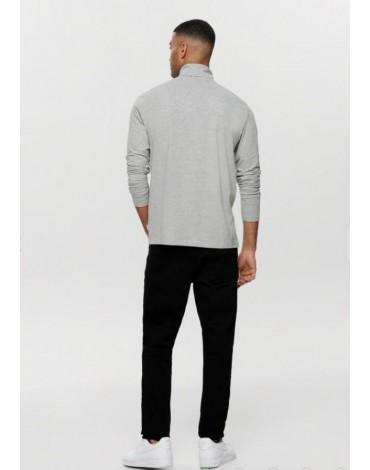 Jersey básico Only & Sons cuello vuelto