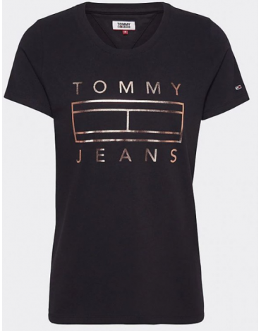 Camiseta Tommy Jeans METALLIC