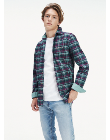 Camisa Tommy Jeans cuadros
