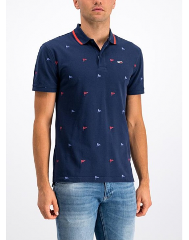 Polo Tommy Jeans banderas