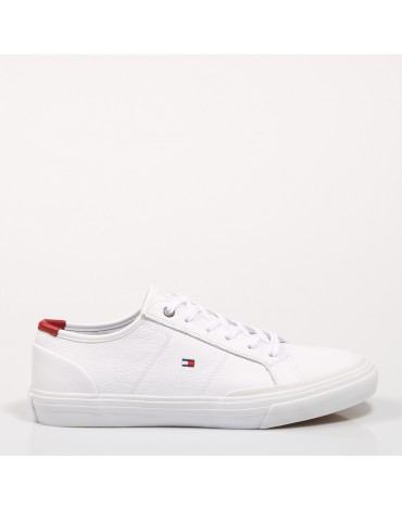 Zapatillas Tommy Hilfiger CORE CORPORATE FLAG WHITE