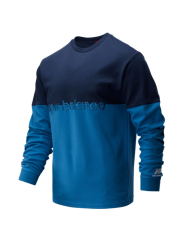 Sudadera New Balance Athletics Pique Stripe