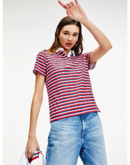 Polo Tommy Jeans STRIPE