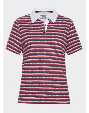 Polo Tommy Jeans STRIPE