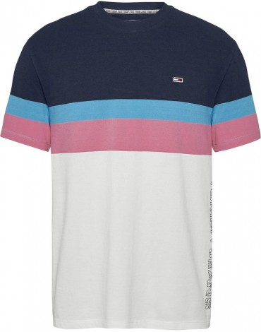 Camiseta Tommy Jeans GRAPHIC COLORBLOCK