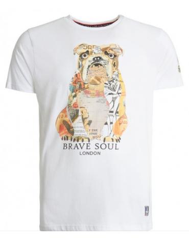 Camiseta Brave Soul  MTS-149BRUNO