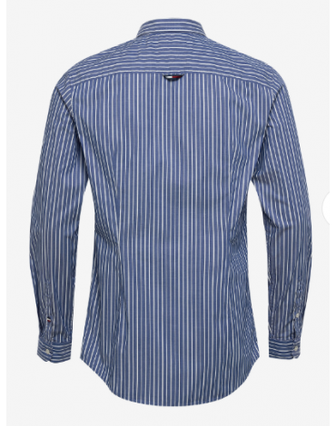 Camisa TJM Stripe Stretch Poplin Shirt DM0DM07925