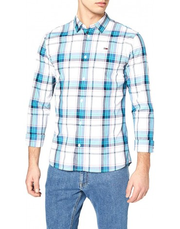 Camisa Tommy Jeans ESSENTAIL CHECK