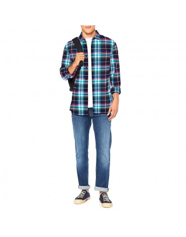 Camisa Tommy Jeans ESSENTIAL CHECK
