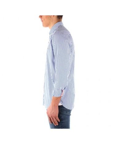 Camisa Slim Hyper classin stripe shirt MW0MW12209