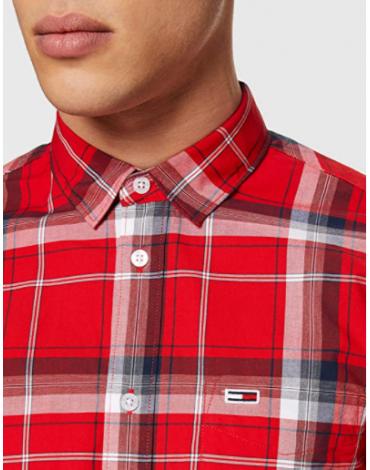 Camisa TJM Essential Check Shirt DM0DM07911
