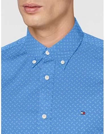 Camisa Tommy Hilfiger Slim Geo Print Shirt MW0MW12173