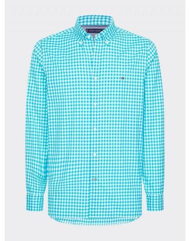 Camisa Tommy Hilfiger Slim Natural Soft Gingham Shirt MW0MW13448