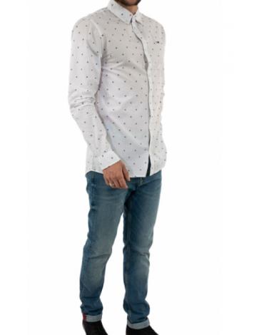 Camisa TJM Novel Dobby Poplin Shirt DM0DM07910