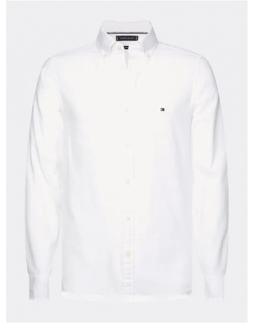 Camisa Tommy Hilfiger Slim Flex Dobby Shirt MW0MW12178