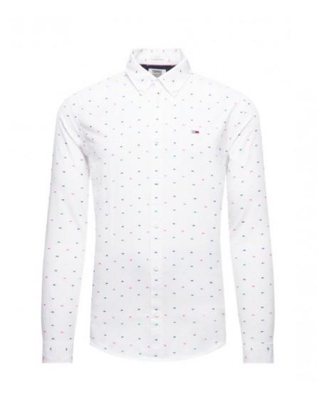 Camisa TJM Colored Dobby Poplin Shirt DM0DM07492