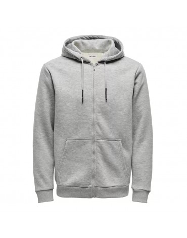 Chaqueta Only & Sons Onsceres Life Zip THR. Hoodie Sweat Noos