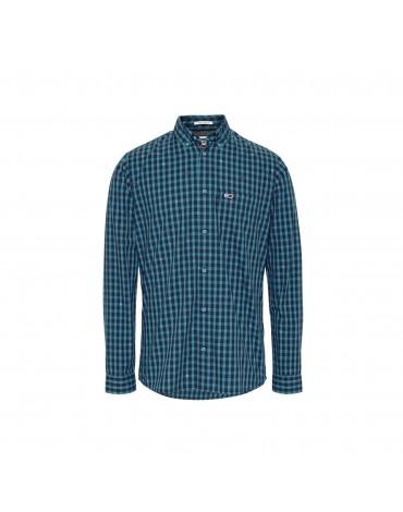 Camisa TJM Twill Gingham Shirt DM0DM07503