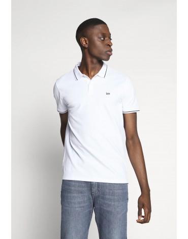 Lee Polo Piqué Regular Fit Tall Bright White L61ARLLJ