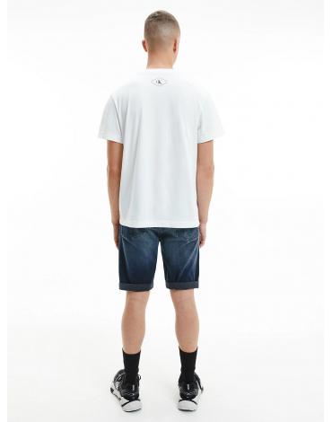 Calvin Klein camiseta de algodón orgánico con estampado fotográfico J30J317465