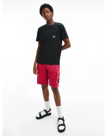 Calvin Klein camiseta de algodón orgánico con logo J30J317294