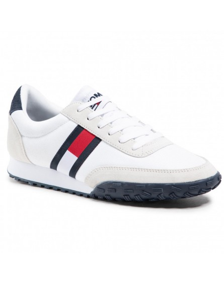 Tommy Jeans zapatillas LOW PROFILE MIX RUNNER RETRO