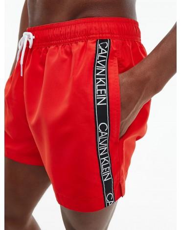 Calvin Klein Bañador Corto con cordón - Logo Tape KM0KM00557