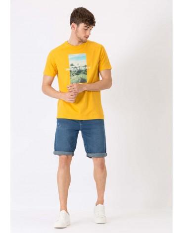 TIFFOSI Pantalón corto Indigo Knit Short-8 Slim Fit Rotos