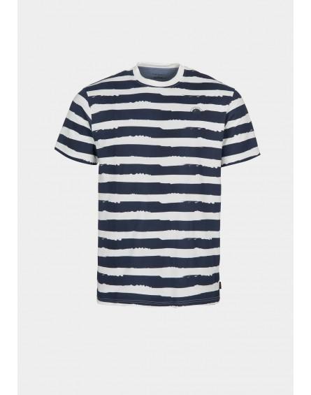 TIFFOSI Camiseta manga corta rayas Loudi