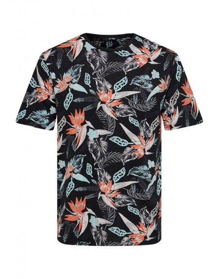 Only&Sons Camiseta Onsklop Life Reg SS AOP Tee