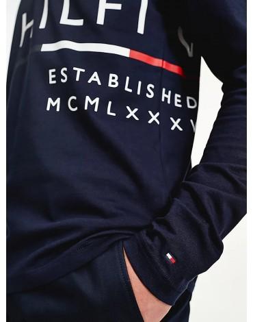 Tommy Hilfiger Camiseta manga larga Wrap Around Graphic