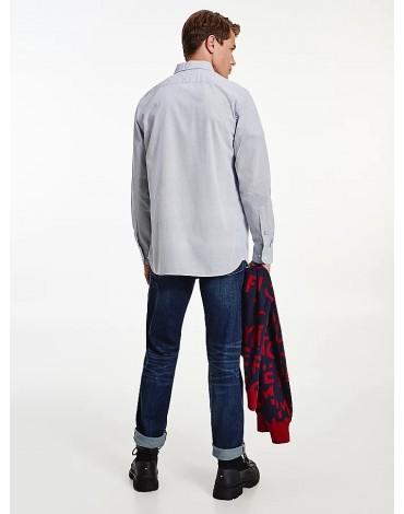 Tommy Hilfiger Camisa Poplin Mini Geo Prin 0K4