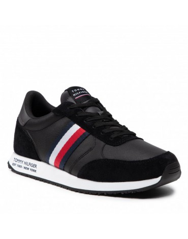 Tommy Hilfiger Zapatillas Runner Lo Leather